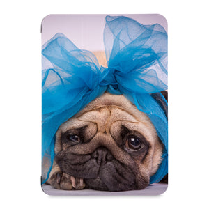 the front view of Personalized Samsung Galaxy Tab Case with Dog design