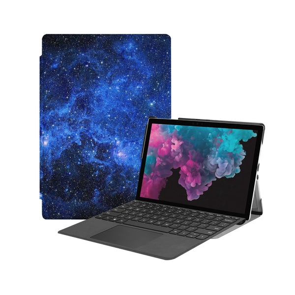 the Hero Image of Personalized Microsoft Surface Pro and Go Case with Starry Night design