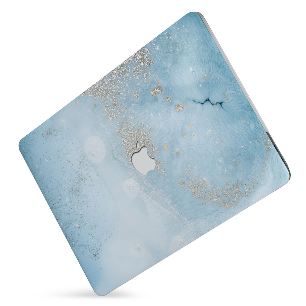 Protect your macbook  with the #1 best-selling hardshell case with Marble Gold design
