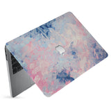hardshell case with Oil Painting Abstract design has matte finish resists scratches