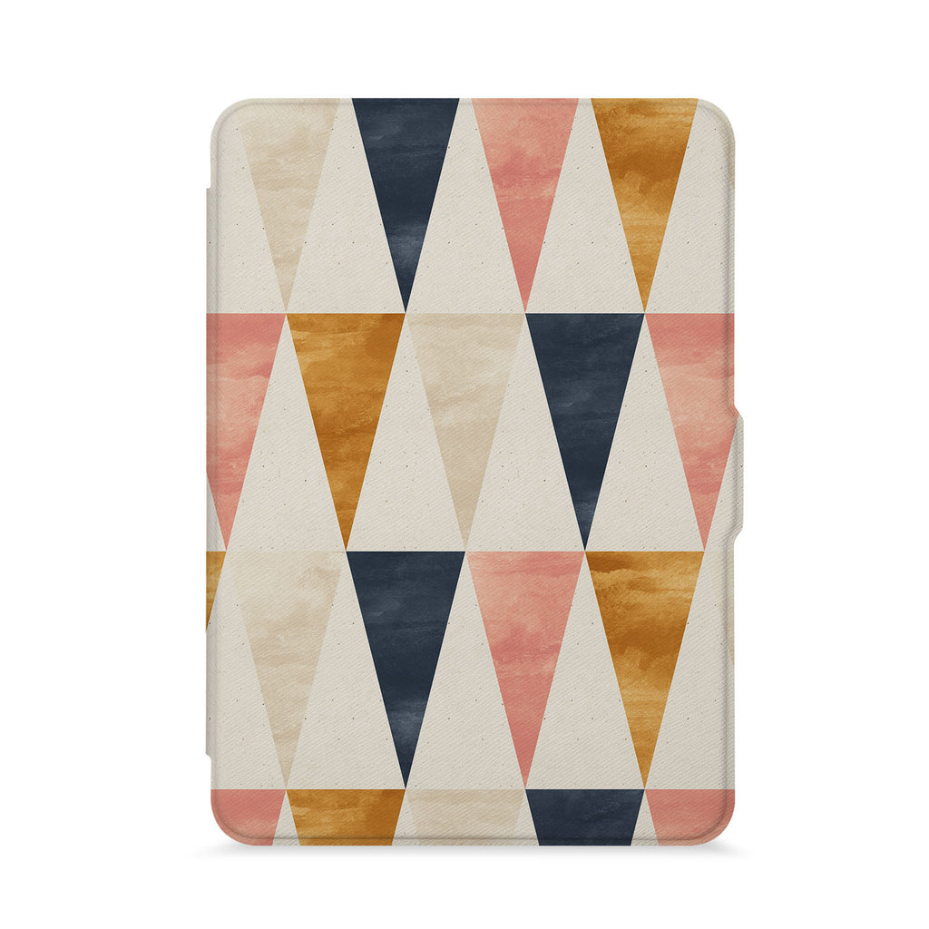 front view of personalized kindle paperwhite case with 07 design - swap