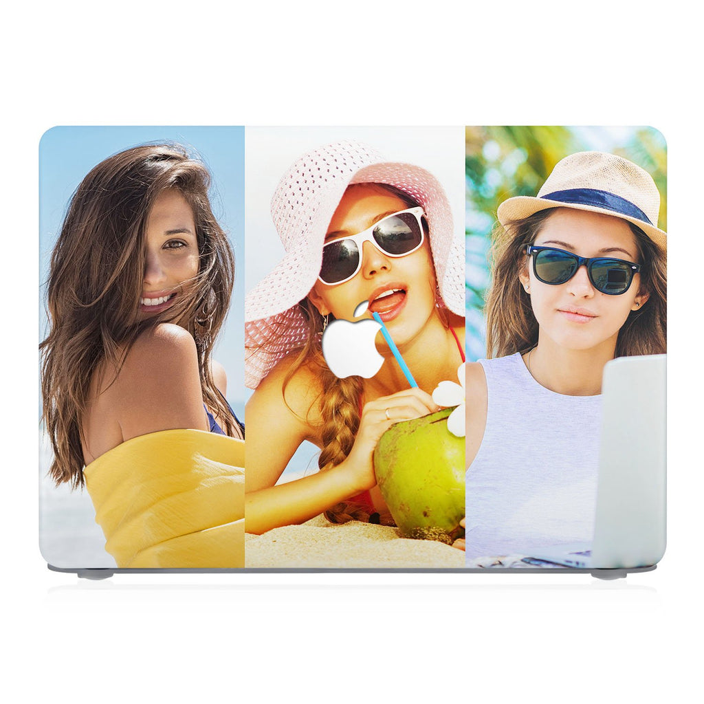 Macbook Case - Three Vertical Photos