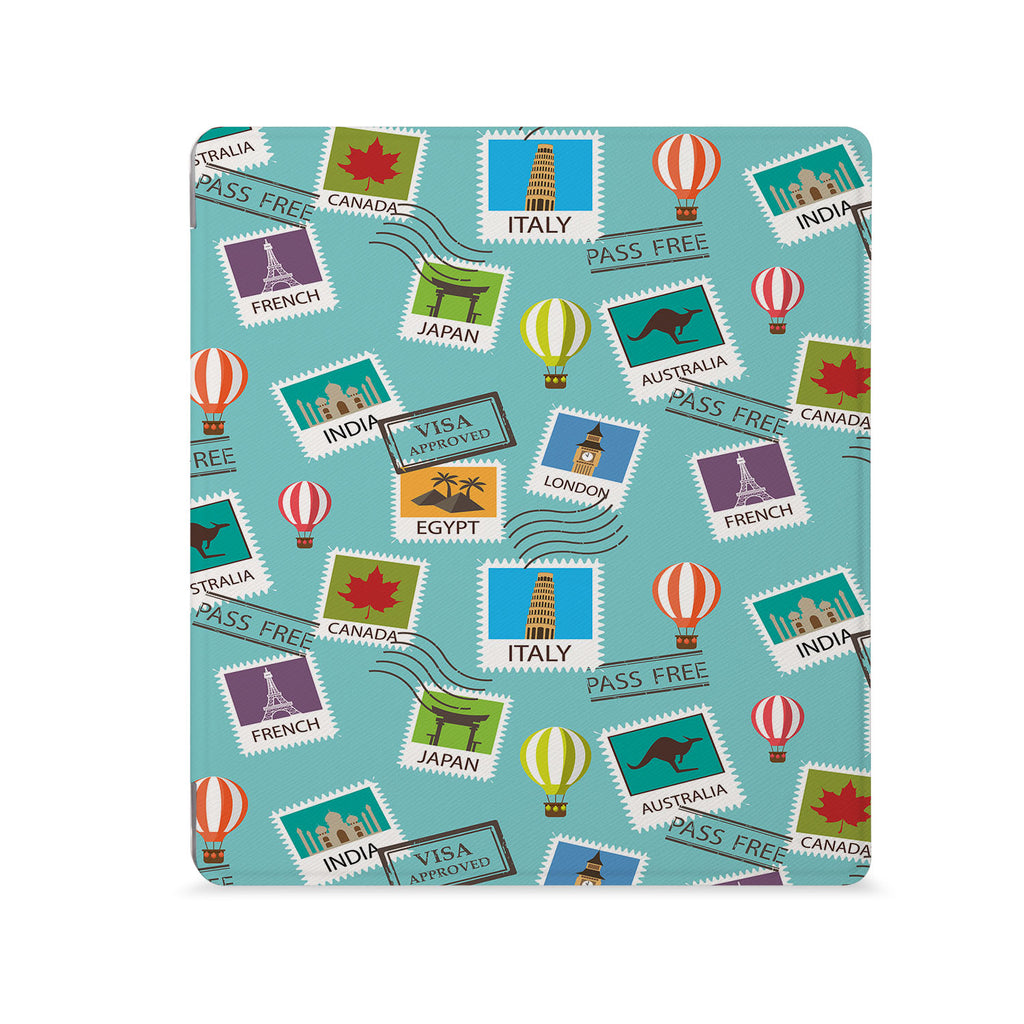 the Front View of Personalized Kindle Oasis Case with 03 design - swap