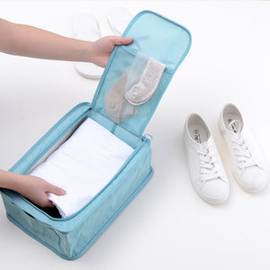 Travel Foldable Shoe Organizer