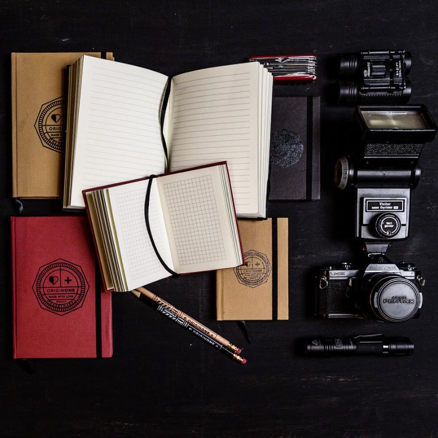 Ink-pen friendly hard-bound diary made with paper from sustainable sources