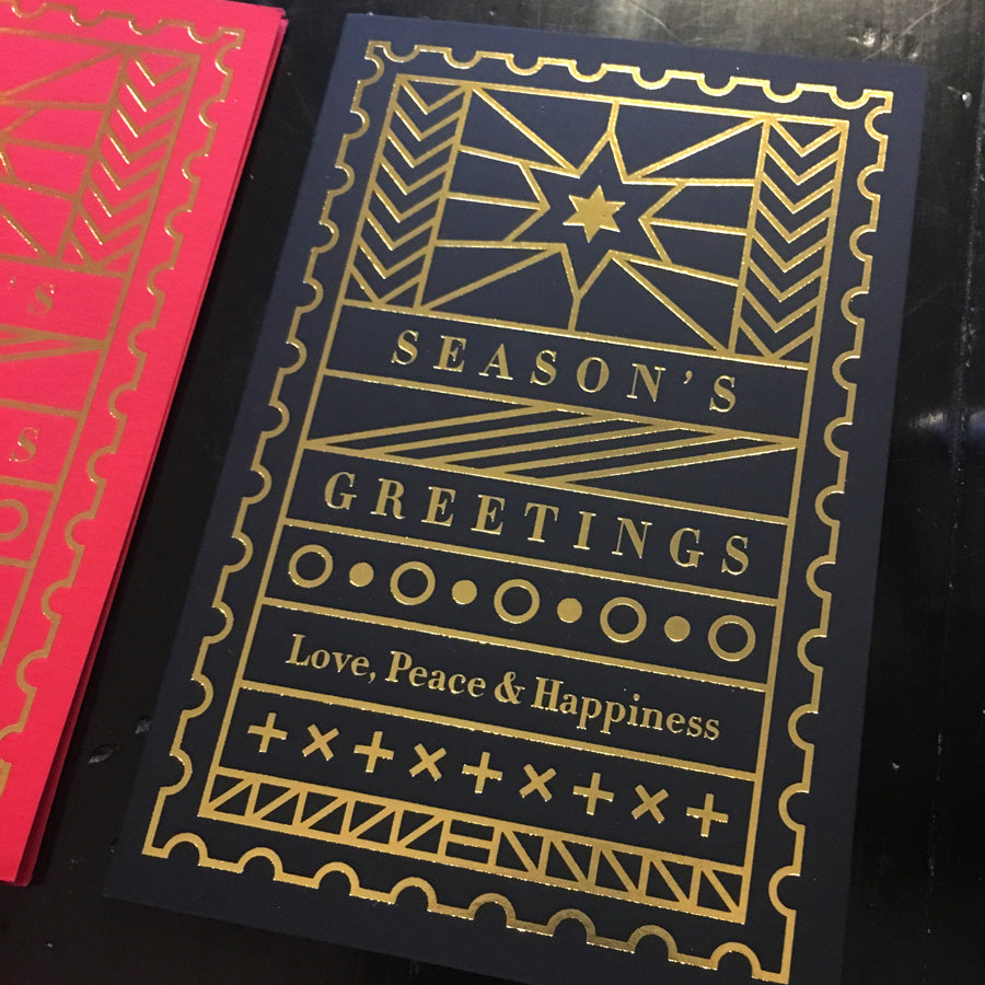 'Season's Greetings' Greeting Cards