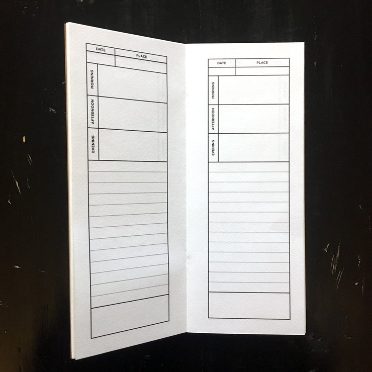 Tall Travel Journal