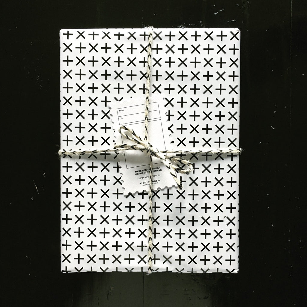 +x+x+x Wrapping Paper