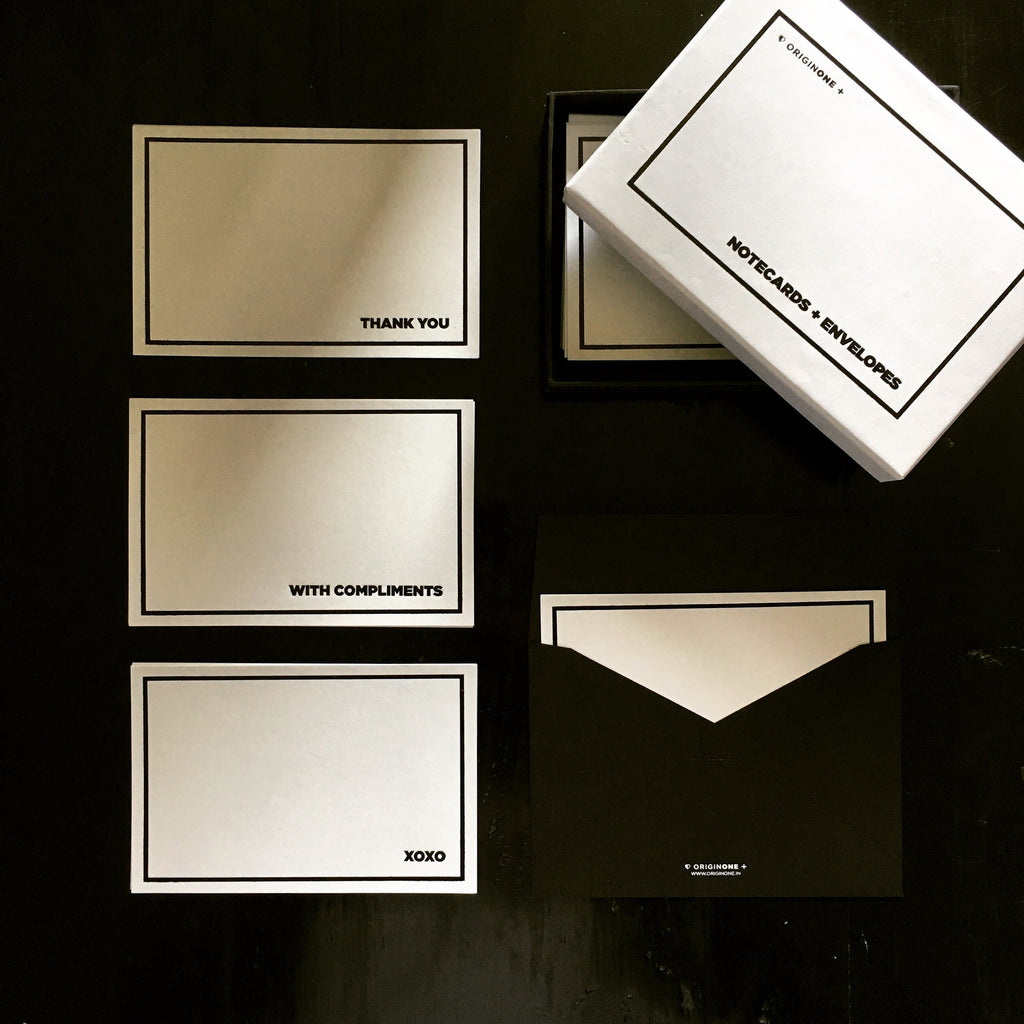 B&W Notecards