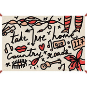 Musicology - 'Take Me Home' Hand-knotted Rug