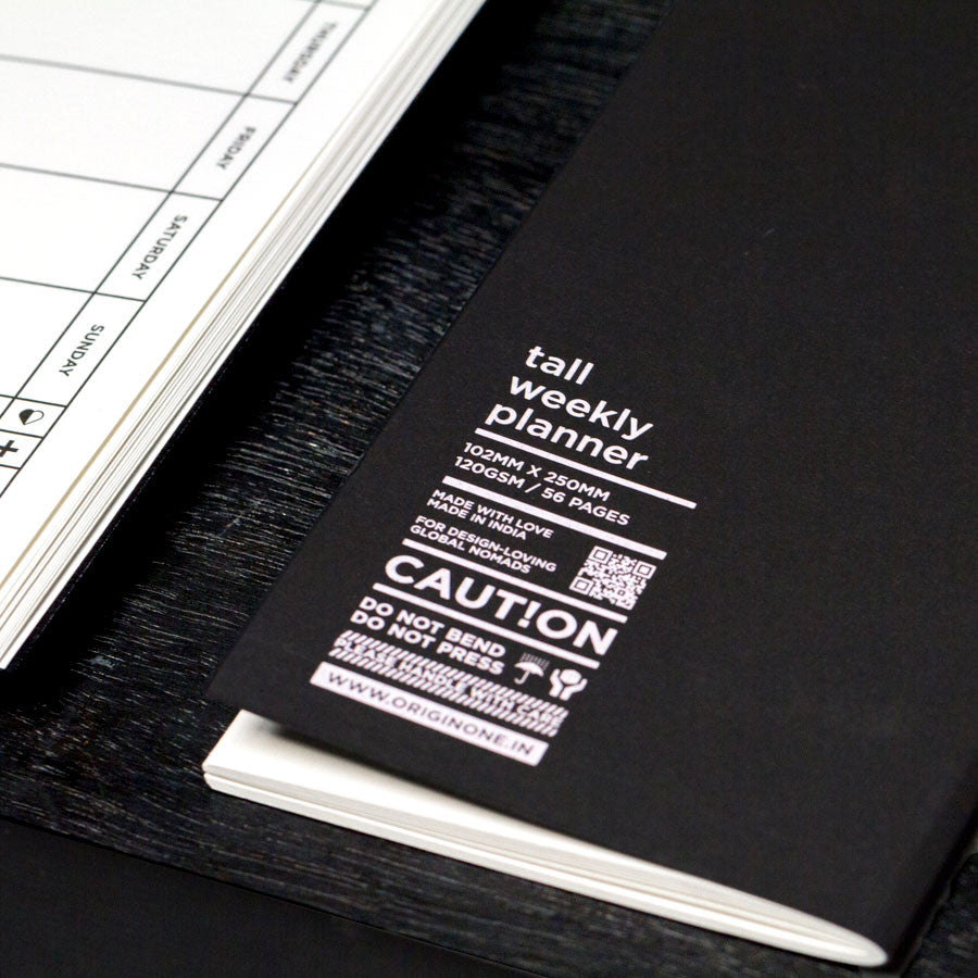 Tall Weekly Year Planner