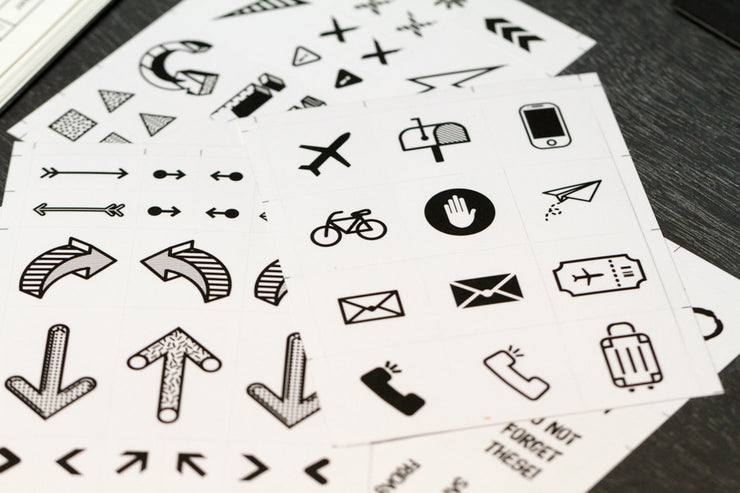 Transparent Planner Stickers