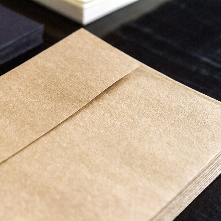 Set of 12 Kraft Envelopes
