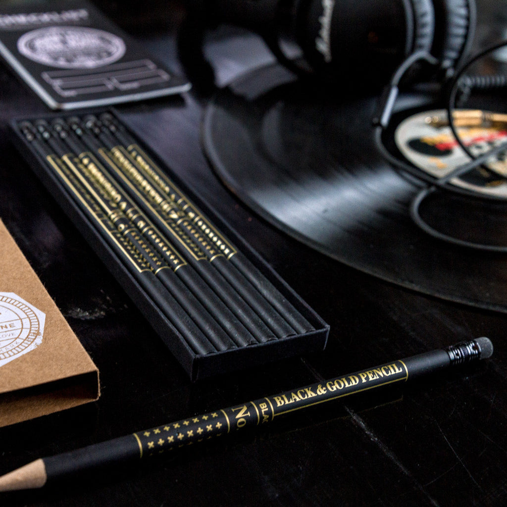 Black & Gold Pencil