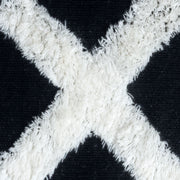 The XO Cosmos Black Bedside Rug