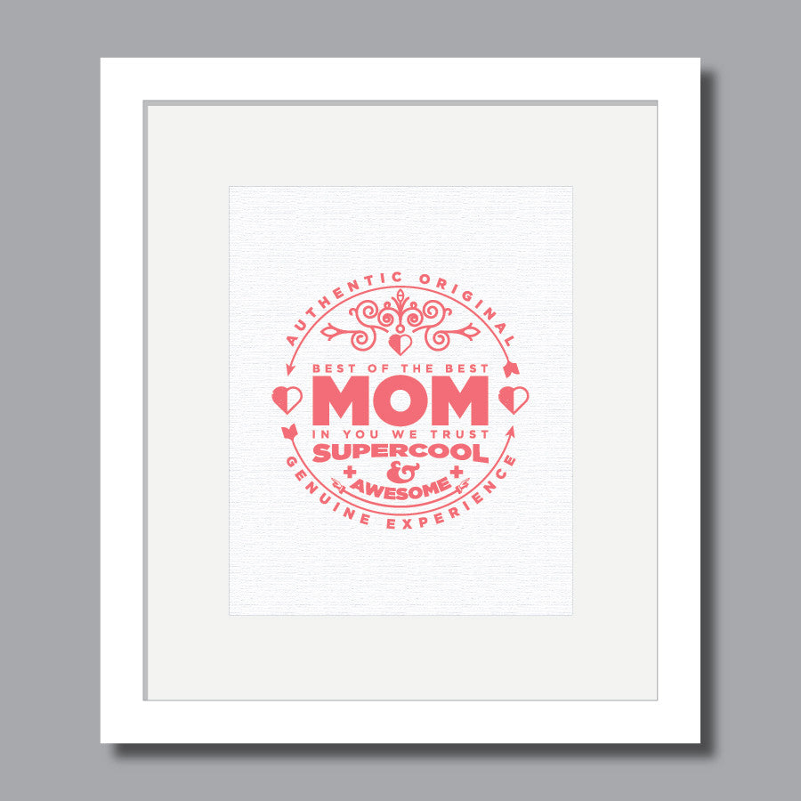 'Mom' Wall Art