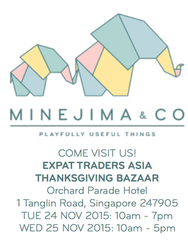 Minejima & Co. Expat Traders Asia Thanksgiving Fair