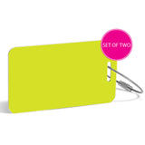 RuMeID Luggage Tag (Set of Two) (More Colors Available) - Minejima & Co.  - 11