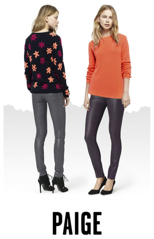 Paige jeans and chinti & parker cashmere at peek boutique
