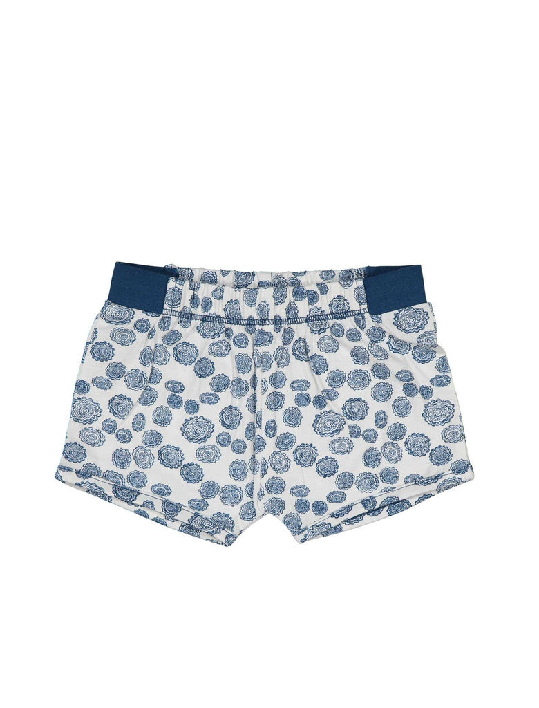 kidscase bubble shorts printed blue