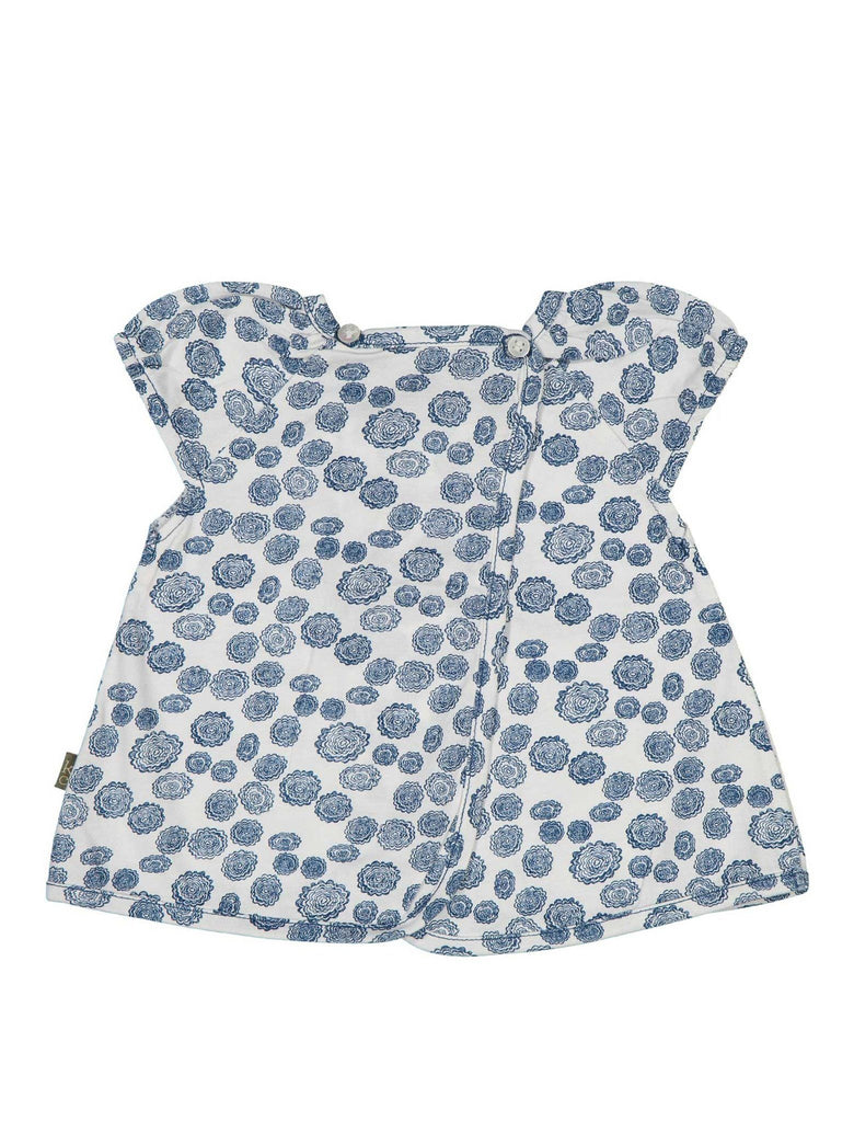 Organic cotton printed baby top