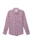 Soft linen, long sleeve button down top. Single lined with a single chest pocket.