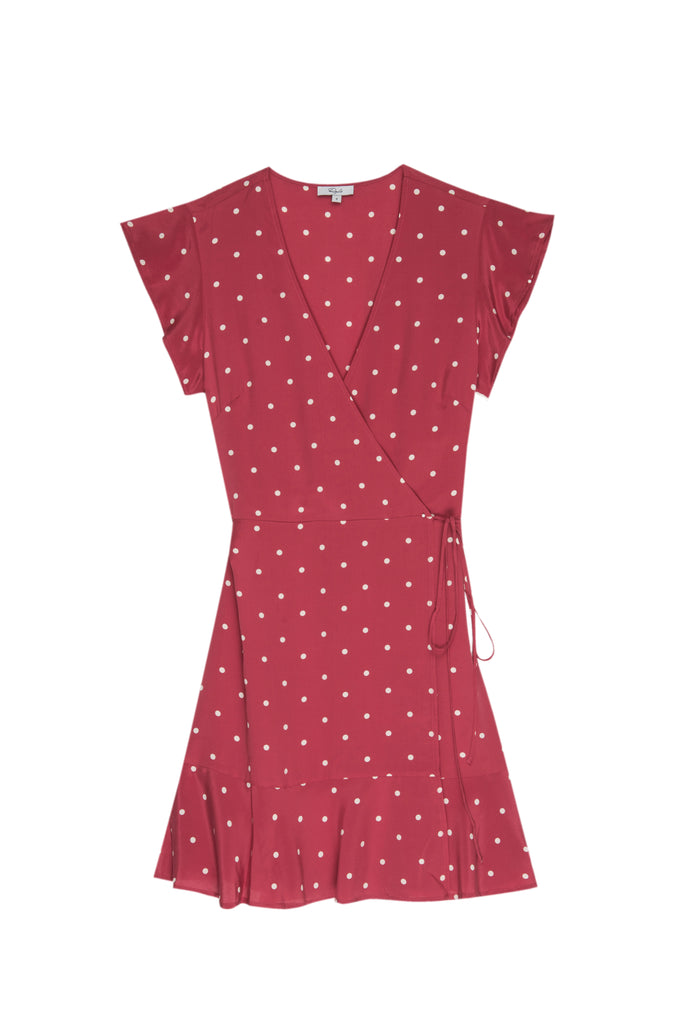 Fun easy to wear wrap dress from Rails - perfect for a warm Summer's day.