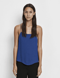 Samsoe Samsoe Gizem blue strappy top for SS17