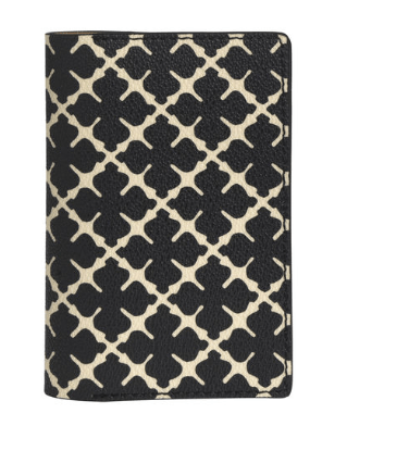 By Malene Birger's passport cover is a jet-set essential. It is crafted from durable material embossed with the brand's Arabian Flower motif.