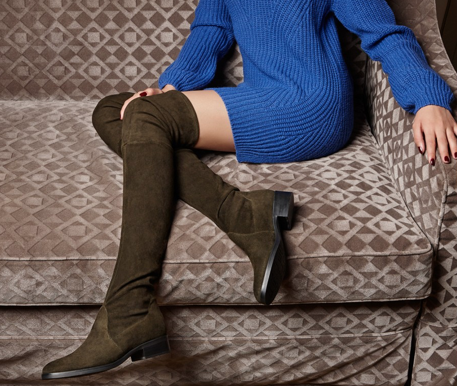 Fabea Thigh High Boots