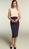 The gorgeous Finch pencil skirt in graphite from Goat is a classic which will be with you for years to come.