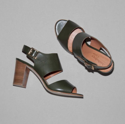 Your go to sandal for summer - available in blue and khaki.  Pair with a pretty dress or your skinny white jeans - a perfect blend of comfort and gorgeousness!
