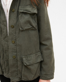 Gorgeous relaxed khaki padded jacket from Hartford.  Love this paired with jeans - great jacket to take you into Autumn!