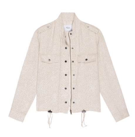 Our favourite lightweight jacket from Rails is back - this time in a neutral cheetah print that is the perfect finish to any outfit.  Looks equally great with denim or over a pretty dress or skirt.  Throw on and go - also super for travelling.