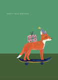 Fox Skateboard Card