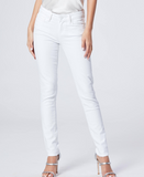 This is a modern take on our favourite Paige mid rise skinny.  In the perfect white (and there are actually many whites!) for summer these are super soft and comfortable.  The ankle length creates a bit of elegance especially when paired with a strappy sandal.