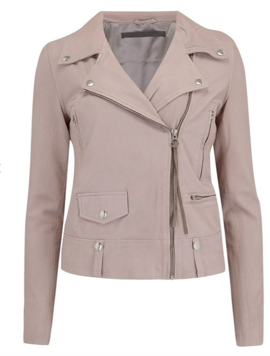 Who doesn't love a leather jacket.  Our version from uber cool Danish brand MDK is crafted from butter soft thin leather which makes it the perfect spring and summer jacket.  This will look fantastic paired with your favourite dresses and maxi skirts or good old denim.  You'll want this in every colour!