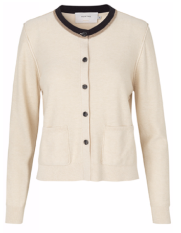 Pretty ivory cardigan from Munthe.  Just perfect when you need an extra layer.  Looks equally good on it's own with denim.