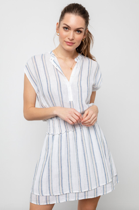 Angelina Stripe Dress