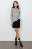 Super soft crewneck sweatshirt from our favourite easy living brand Rails.  Perfect for relaxing at home or pair with a skirt or denim and go about your day in comfort but with style.