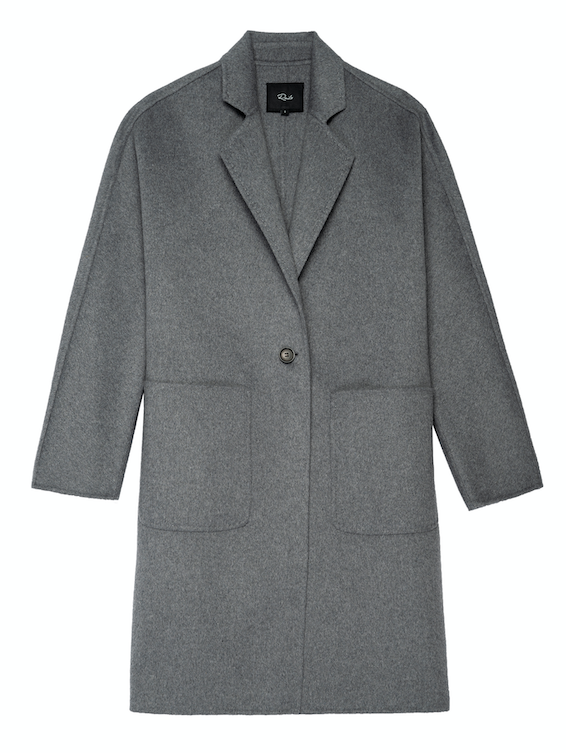 Say hello to Everest.  This is an imminently wearable coat from Rails.  With long sleeves and crafted from a heavy wool blend this is the coat that will fit over all your winter jumpers.  With large patch pockets, a single button closure and an unstructured shape this is an easy put over anything kind of coat.  We recommend sizing down if you would like a slimmer fit.
