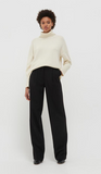Cream Cashmere Rollneck