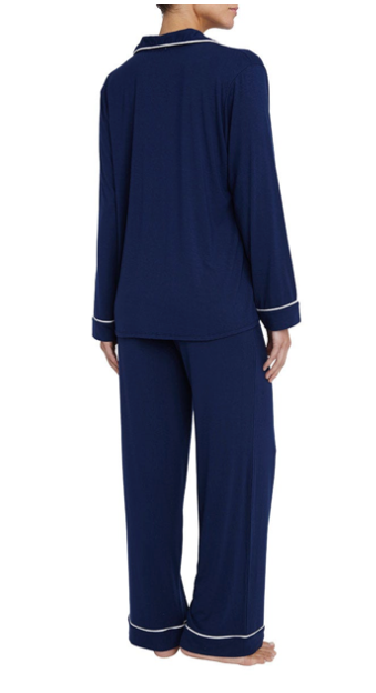 Gisele Long Navy Pyjamas