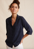 Thank you Bella Dahl for creating our new favourite effortless everyday shirt.  Crafted from Bella Dahl's signature super soft fabric and featuring a slightly oversized fit, chest pocket and our favourite thing - a longer back hem!  You'll want this in every colour!