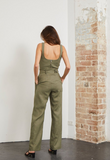 Gorgeous wide straight legged trousers with matching belt - evening or day wear - evening pair with a heel and little fitted top and looks great in the day with trainers and a white tee.