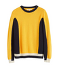 Introduce some uplifting colour into your wardrobe with this bold Penelope sweater. With linear blocks of yellow, black and cream, the design has a lively Pop Art feel – a theme that runs through the SS19 collection. Made from pure lightweight cashmere, it is an elegant piece with a playful touch.