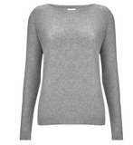 To call this cashmere jumper a basic is criminal - but it really is the perfect basic grey cashmere from Madeleine Thompson!