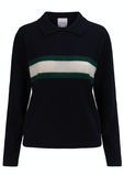 Gorgeous cashmere jumper with collar from Madeleine Thompson.