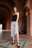 Gorgeous easy to wear skirt from rails - pair with white trainers and a vest for a relaxed look - or pair with strappy sandals, a cami and a leather jacket for an evening look.