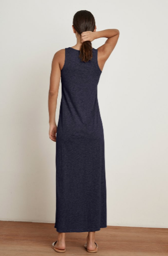 Geneva Slub Maxi Dress